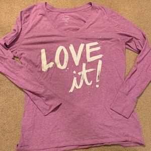 Long sleeve t shirt old navy